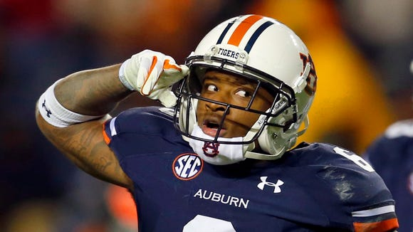 Auburn defensive back Jonathon Mincy was called for three penalties on Saturday.