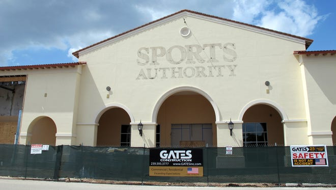 Tuesday Morning and Total Wine & More retail stores will share the former Sports Authority space this fall on the northern end of Coconut Point mall in Estero.