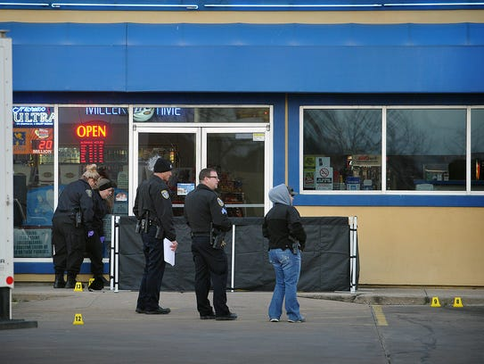 Miguel Angel Silva was killed in an officer-involved shooting after Silva reportedly held two women hostage inside Garrison's Food Mart, 2601 Kemp Blvd., on Feb. 2