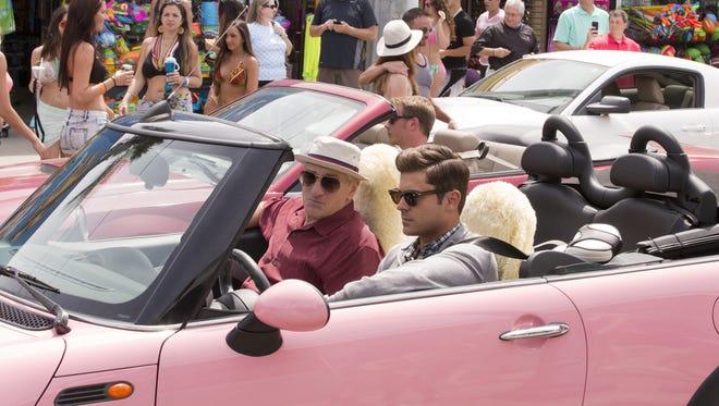 "Robert De Niro and Zac Efron appear in a scene from ""Dirty Grandpa."""