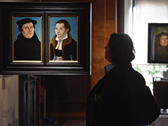 APTOPIX Italy Uffizi Gallery