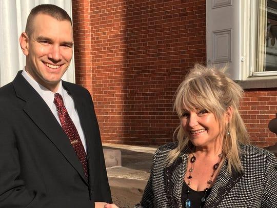 Chambersburg Mayor Darren Brown has endorsed Joan Smith