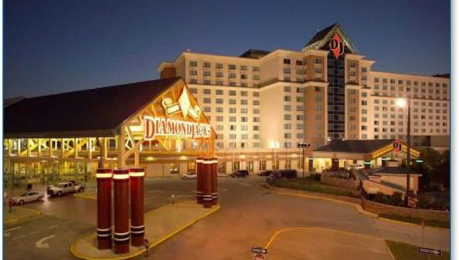 DiamondJacks Casino in Bossier City.