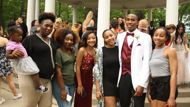 The Binghamton High School senior prom was held at the Holiday Inn Binghamton Downtown on Friday, June 1, 2018.