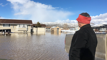 Lemmon Valley floodwater will stand around through early summer