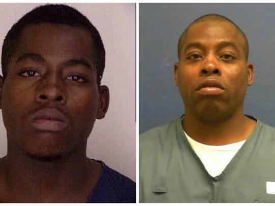 Colby McCoggle pictured at 16, left, and at age 39.