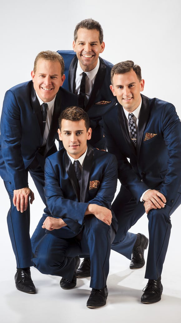 """The Midtown Men, featuring original cast members of """"The Jersey Boys,"""" will be in concert with the Wichita Falls Symphony March 25."""