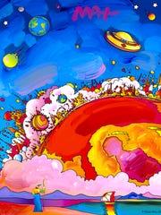 """Solar Phenomenon"" by Peter Max."