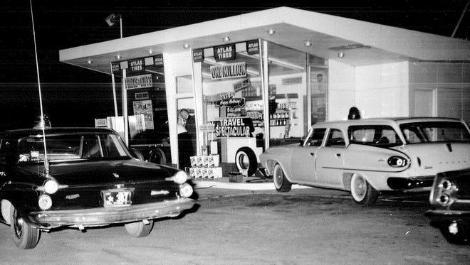Photograph from the June 12, 1963 homicide of Wayne Pratt.