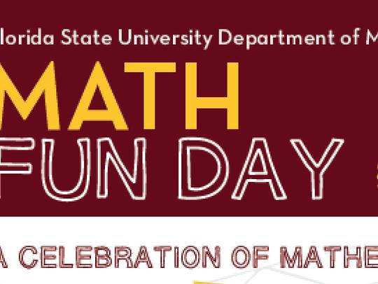 Math Fun Day at FSU is Oct. 14