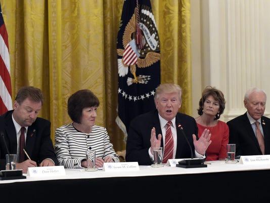 Donald Trump,Dean Heller,Susan Collins,Lisa Murkowski,Orrin Hatch