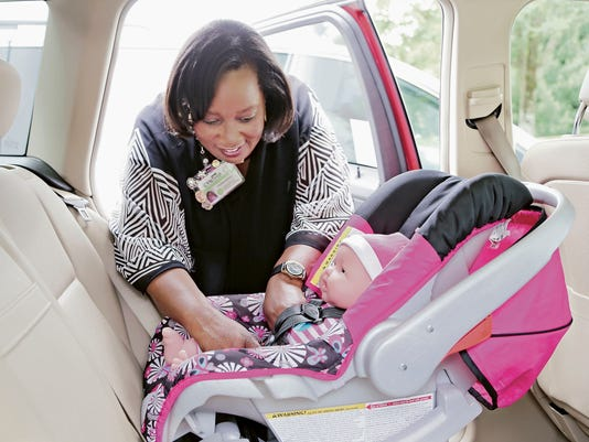Ensure your child's car safety seat is installed safely