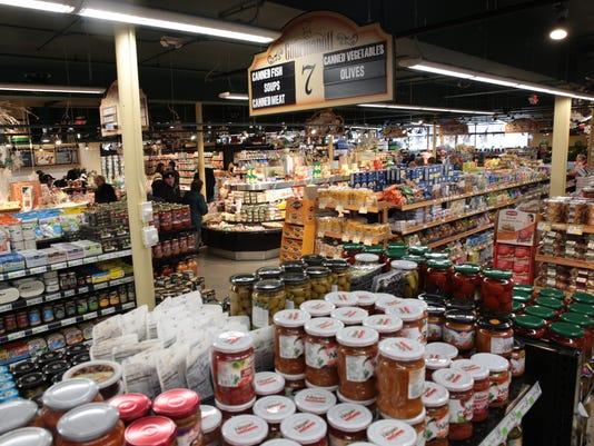 Gourmanoff luxury supermarket grand opening