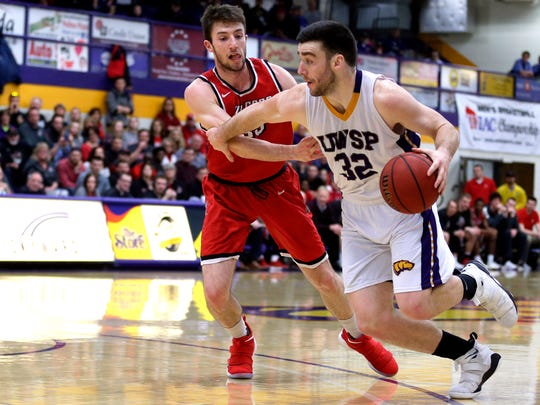 UW-Stevens Point junior forward Canon O'Heron has provided a strong inside presence for the No. 17-ranked Pointers this season. He ranks third on the team in scoring at 10.2 points a game.