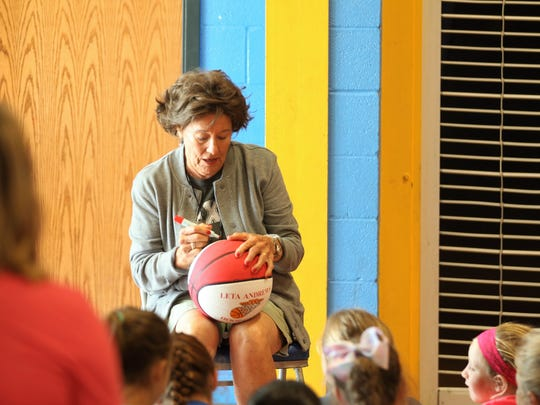 Coach Leta Andrews, the winningest high school basketball
