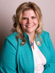 "Rep. Amanda Reeve, R- Phoenix sponsored the ""campus-ban"""