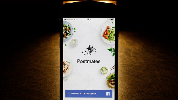 More fast-food companies have been offering delivery by teaming up with food ordering apps, like Postmates.