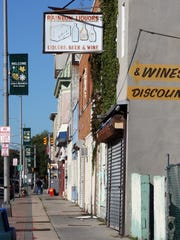 Many businesses have shut down along Long Branch' Lower Broadway Corridor.