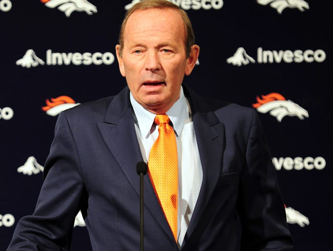 Pat Bowlen, the Denver Broncos owner who won two Super Bowls and oversaw one of the NFL's most consistently competitive franchises, gave up control of the team to continue his battle of Alzheimer's disease. Here is a look at the Broncos during his tenure.