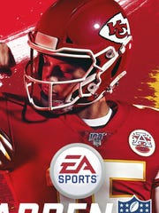 Chiefs quarterback Patrick Mahomes is on the cover of Madden 20.