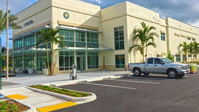 The Lake Worth-area office of the Palm Beach County Tax Collector.