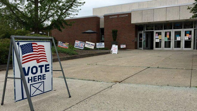 Dansbury Commons in East Stroudsburg is one of the polling precincts in Monroe County.