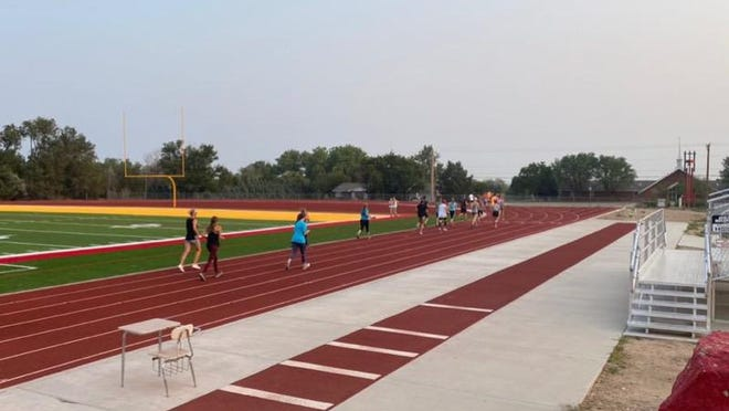 The annual 10K and 5K races began 7 a.m. Saturday morning with the two-mile race following shortly after at 7:30.