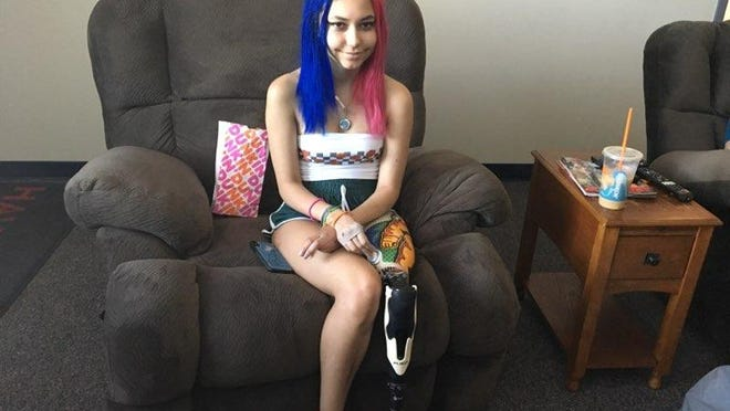 New Bern High School student Paige Winter continues her road to recovery as she is now almost two months removed from being attacked by a shark at Fort Macon.