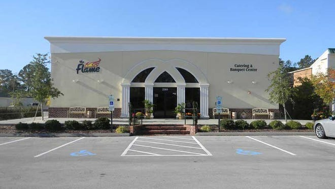 The Flame is located at 2301 Neuse Blvd, New Bern, NC 28560.