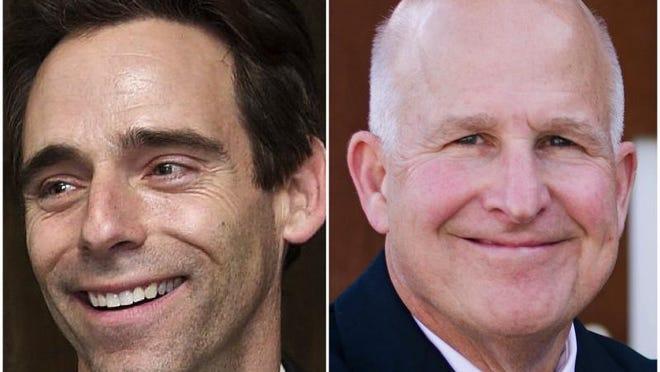State Sen. Steve Stadelman, D-34, is being challenged by Republican Paul Hoffmann.