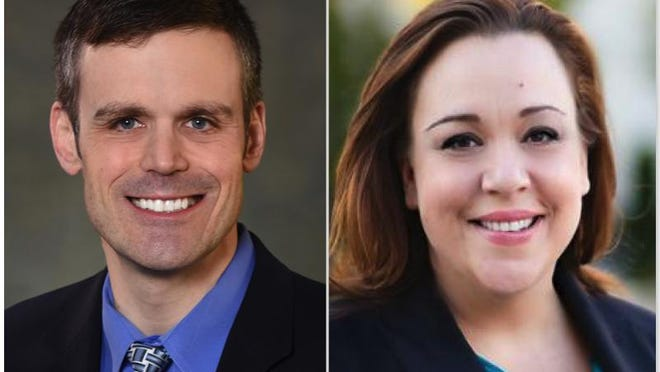 Jamie Getchius, a Republican, and Angela Fellars, a Democrat, are competing for District 19 on the Winnebago County Board.