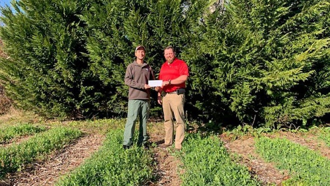 Veterans Healing Farm in Henderson County was recently awarded a grant through Carolina Farm Credit's Corporate Mission Fund.