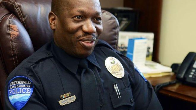 Hendersonville Police Chief Herbert Blake