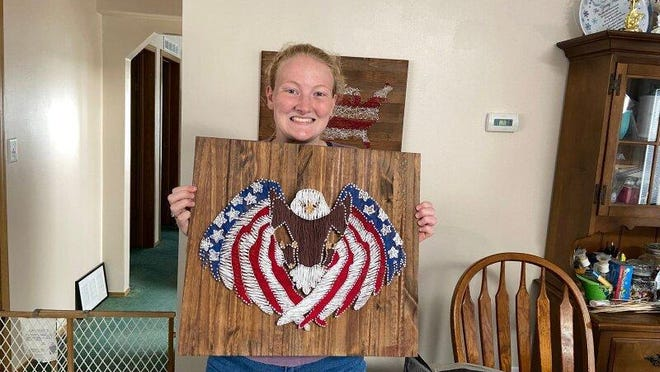 Shayna Glase, 17, a member of the 4-H club Dog Gone Fun, was awarded extra special honors in both Static and Art Entrepreneurship during this year's virtual Lenawee County Fair.