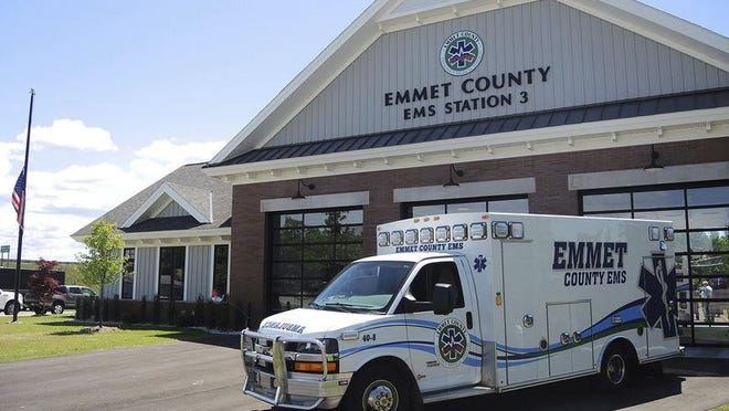 The Cheboygan County Board of Commissioners recently approved the renewal of an ambulance millage agreement between Cheboygan County and Emmet County EMS to coverage of ambulance services in Mackinaw City, part of Hebron Township and Mackinaw Township. Petoskey News Review File Photo