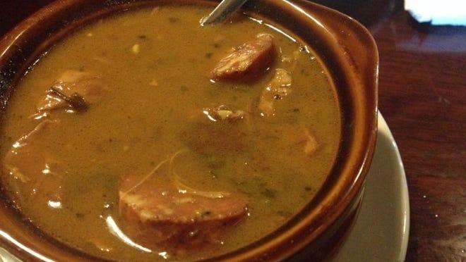 SwampWater Grill's Gumbo has intense flavor.