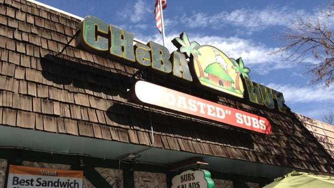 The Cheba Hut at 104 E. Laurel St., is part of the 25-store chain. Headquartered in Fort Collins, owner Scott Jennings plans to expand nationally to 200 stores by 2025.