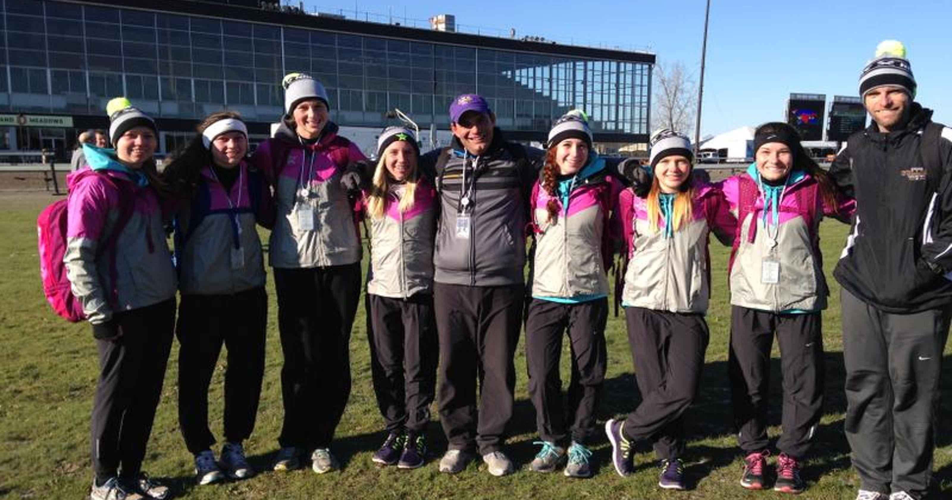 differently 2b0c1 a67bf Fort Collins girls cross country team Top 10 at Nike nationals