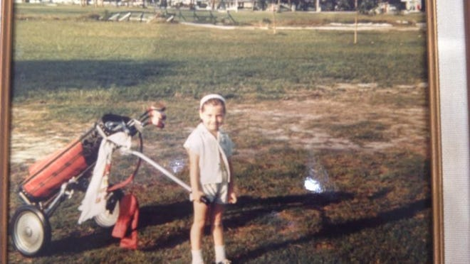 Terry-Jo Myers, who'll hit one of the ceremonial tee shots at the Grand Re-Opening of the Fort Myers Country Club, played on the course at a young age.