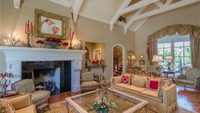 Walk inside this $3.5 million Fishers home, 15059 Geist Ridge Drive, and it feels like you're walking into a French mansion.