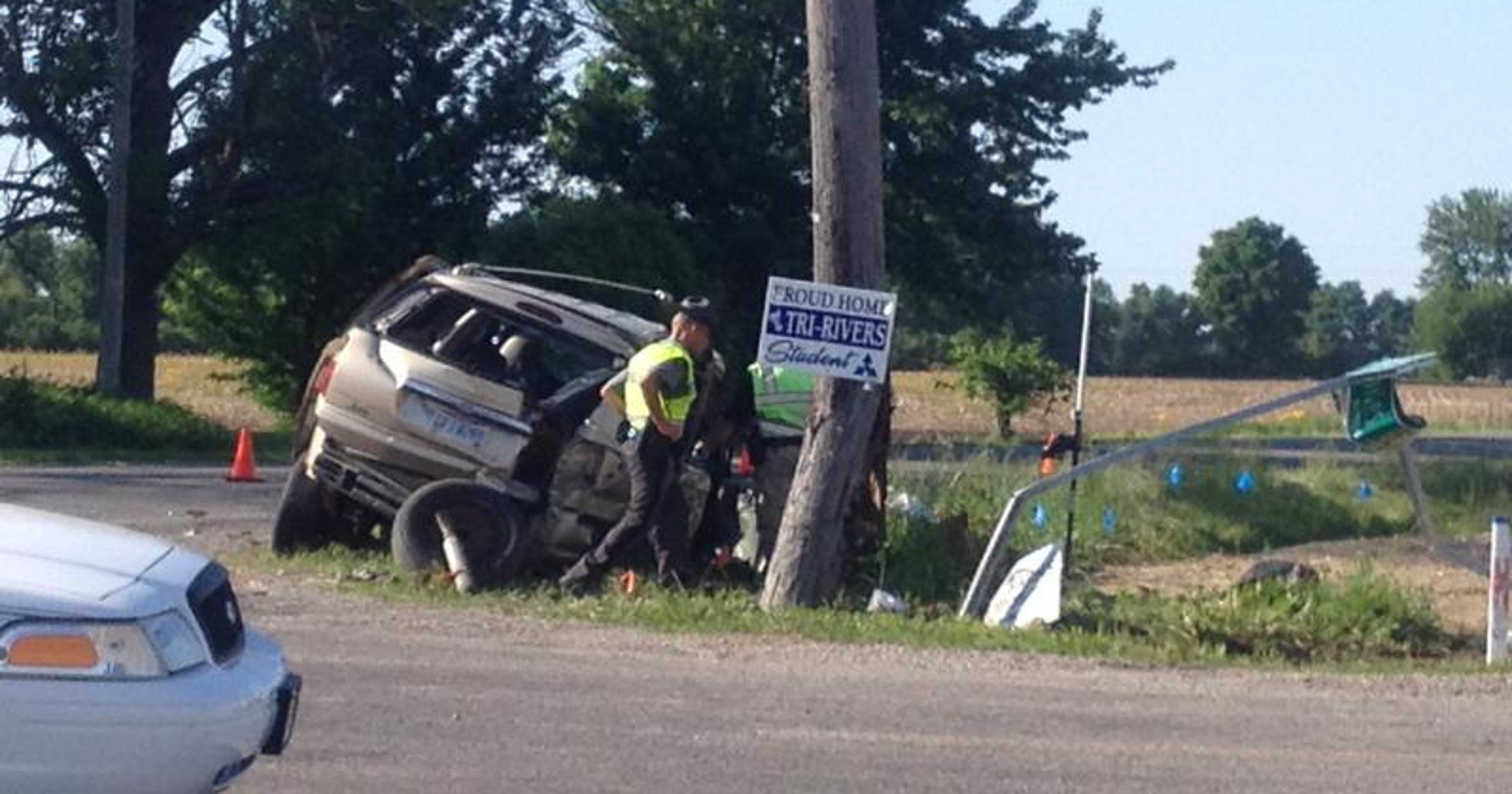 Crash on Ohio 98 and Marseilles-Galion Road leads to two deaths