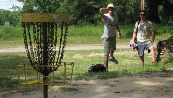 Father-son duo Joe and Ronnie Matz have formed a bond over the sport of disc golf over the years.