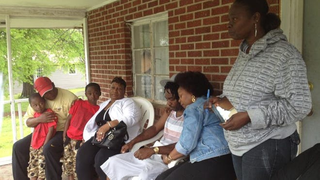 Derrick Varner's family were at his Norman Bridge Road home mourning his death Monday.