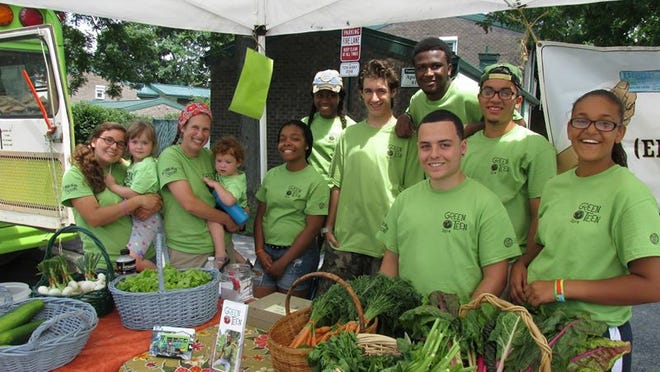 The Common Greens Mobile Market bus sells fresh produce at various locations in Beacon every Wednesday through September. The market, which also delivers to seniors and a local food pantry, is run by the Green Teen Community Gardening Program.