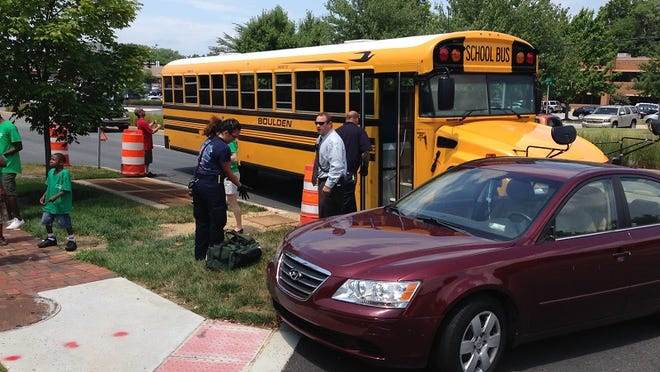 Delaware State Police are arriving at the scene of a crash involving an occupied school bus in Greenville, Sgt. Paul G. Shavack said.