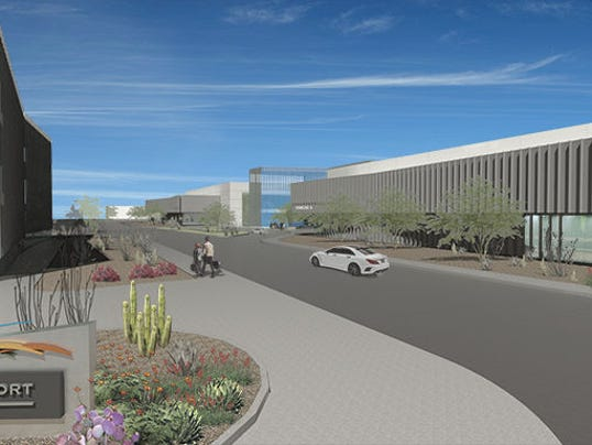 Scottsdale Airport rendering