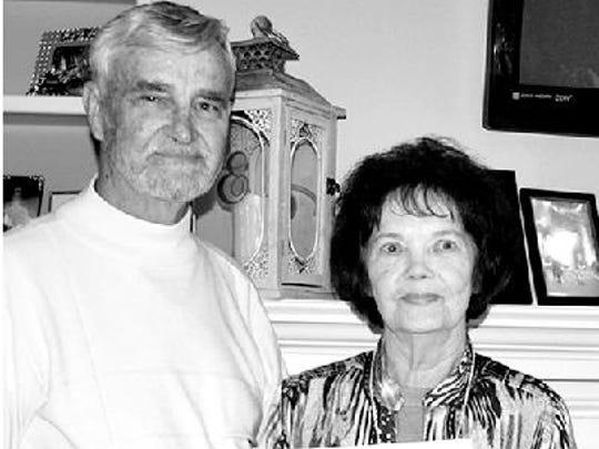 Gene and Linda Carter anniversary