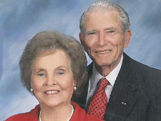 William and Frances Miller anniversary