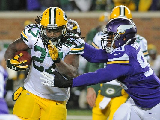 Eddie Lacy, Danielle Hunter
