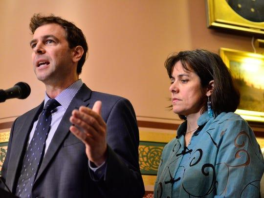 Vermont Senate President Pro Tempore Tim Ashe, D/P-Chittenden,